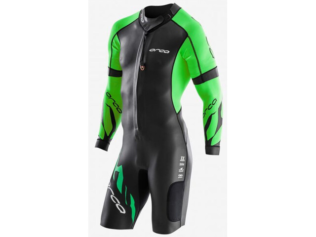 ORCA Core Swimrun Heren, black/green
